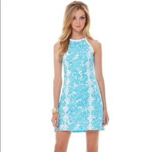 Lilly Pulitzer Blue Pearl Shift shes a fox dress